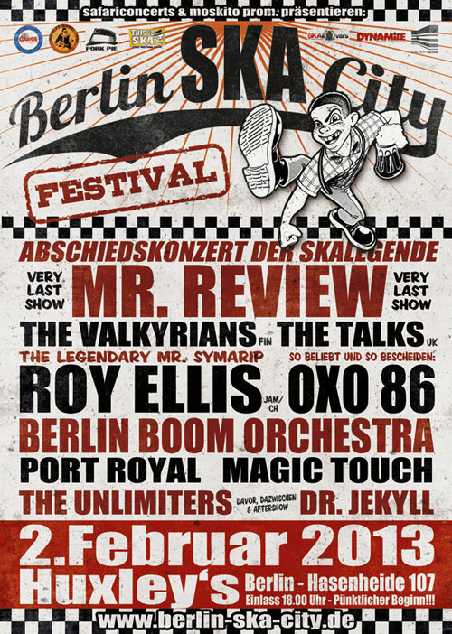 1. Berlin Ska City Festival