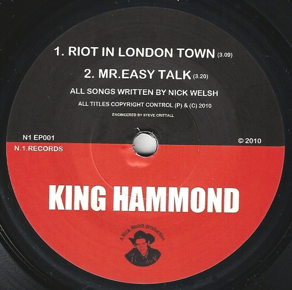 King Hammond - Riot In London Town - 2010