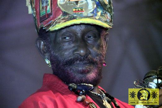 Lee Scratch Perry (Jam) with The Caroloregians 16. This Is Ska Festival - Wasserburg, Rosslau 23. Juni 2012 (24).JPG