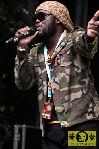 R.C. a.k.a. Righteous Child (Jam) 20. Reggae Jam Festival - Bersenbrueck 02. August 2014 (18).JPG