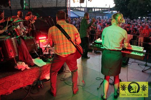 The Claredonians (Jam) with Intensified 13. Riverside Stomp - Reduit, Mainz-Kastel 08. Juli 2017 (19).JPG