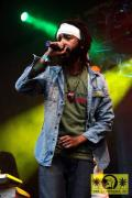 Protoje (Jam) with The Dub Akom Band 17. Reggae Jam Festival - Bersenbrueck 05. August 2011 (16).JPG